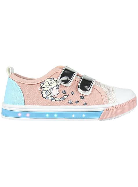 Zapatillas de Elsa con luces para niña - Frozen
