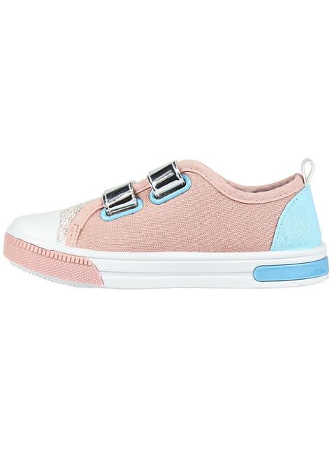 Elsa sko med lys til piger - Frost