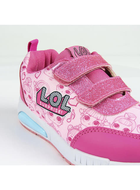 LOL Surprise trainers with lights for girls
