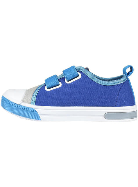 The Avengers trainers in blue with lights for boys - Marvel