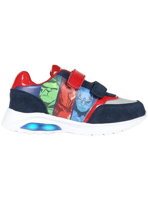 The Avengers joggesko med lys til gutter - Marvel