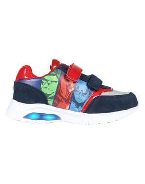 Avengers sko med lys til drenge - Marvel