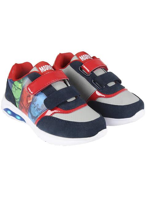 Zapatillas con luces para niño de Los Vengadores - Marvel - oficial