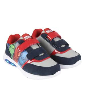 Sneakers med ljus barn The Avengers - Marvel