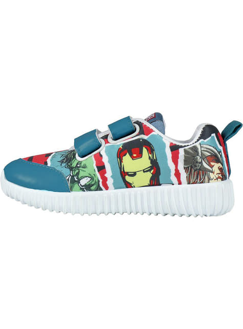 The Avengers trainers in blue and red for boys - Marvel