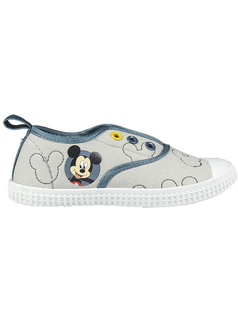 Mickey Mouse trainers in grey for boys