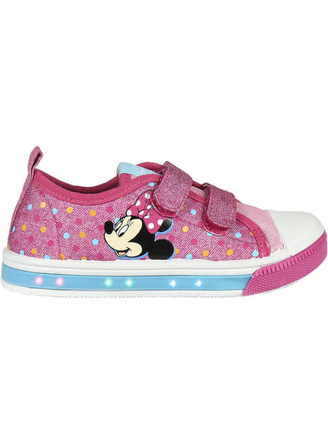 Baskets lumineuses Minnie Mouse fille - Disney