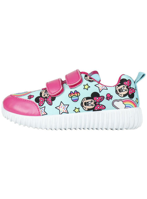 Minnie Mouse trainers in blue for girls - Disney