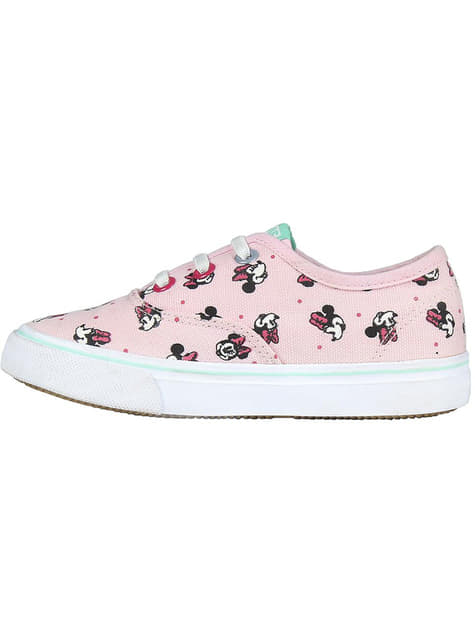 Baskets Minnie Mouse roses fille - Disney