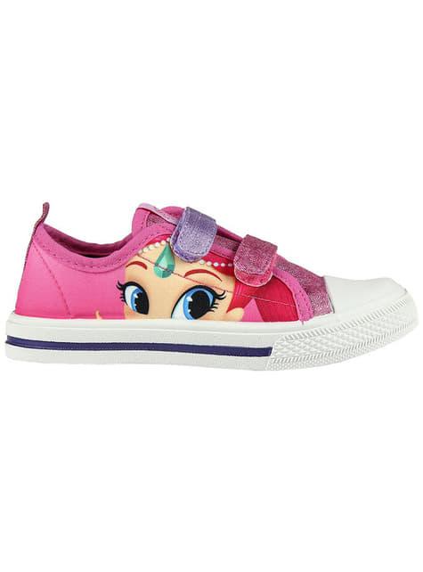 Zapatillas de Shimmer and Shine para niña