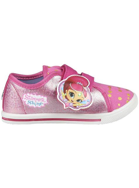 Zapatillas de Shimmer and Shine con luces para niña