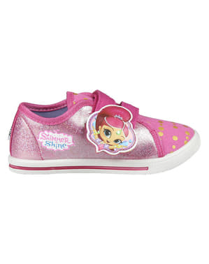 Shimmer and Shine trainers with lights for girls