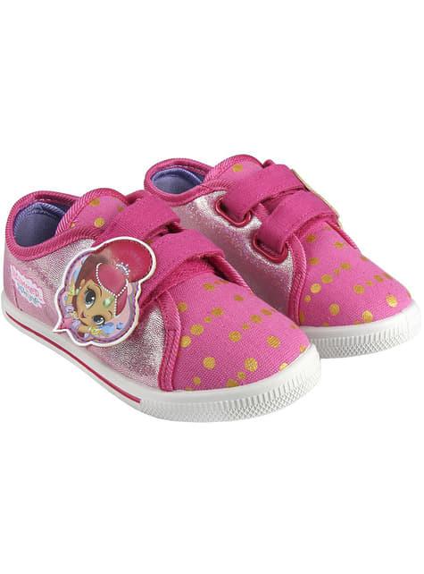 Zapatillas de Shimmer and Shine con luces para niña - oficial