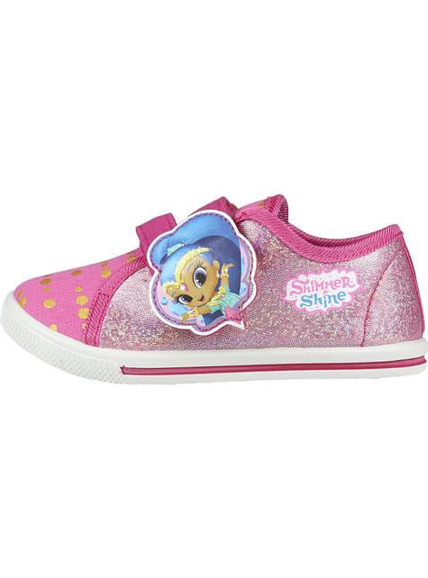 Zapatillas de Shimmer and Shine con luces para niña - comprar