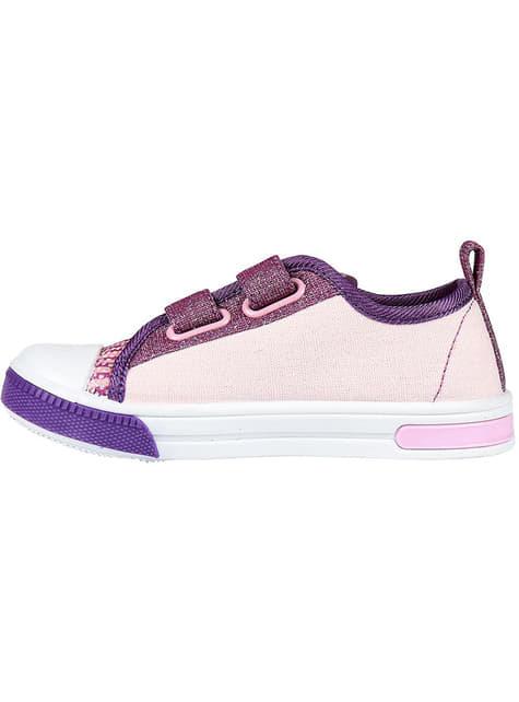 Ténis de Shimmer and Shine cor-de-rosa para menina