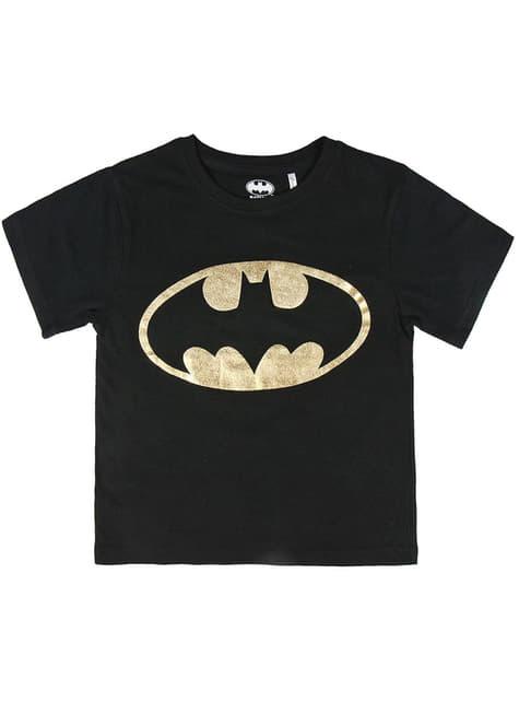 Batman Klassisk T-Shirt til Drenge - DC Comics