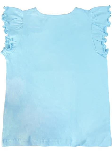 Camiseta de Elsa azul para niña - Frozen - niña