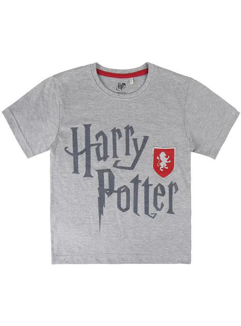 T-shirt de Gryffindor cinzenta infantil - Harry Potter