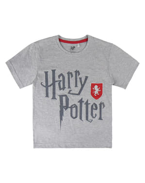 Gryffindor T-Shirt for Kids in Grey - Harry Potter