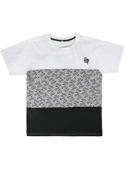 Camiseta de Harry Potter gris para hombre