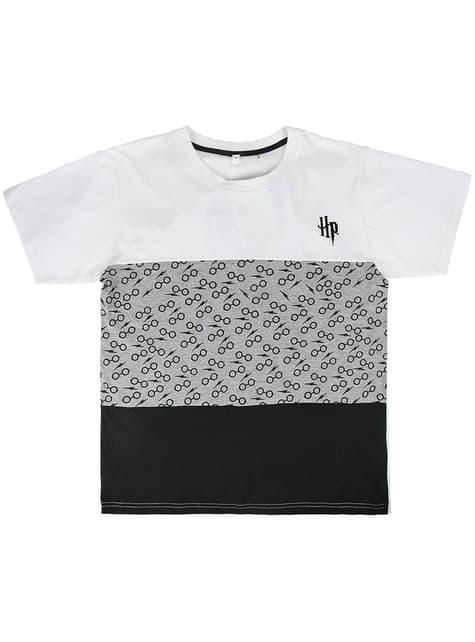 T-shirt de Harry Potter cinzenta para menino
