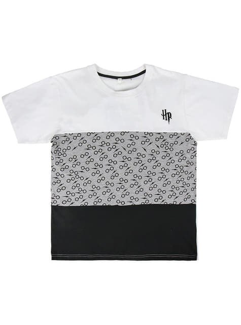 T-shirt Harry Potter gris garçon