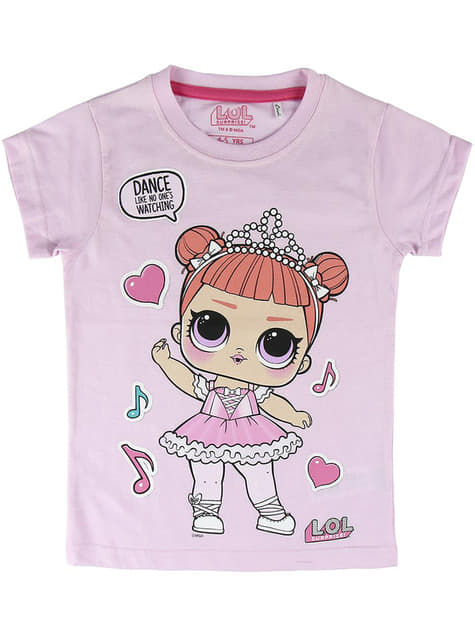 T-shirt LOL Surprise Dance fille