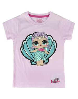 T-shirt LOL Surprise sjöjungfru barn