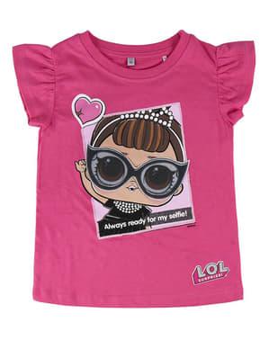 Lol Surprise selfie t-paita tytöille