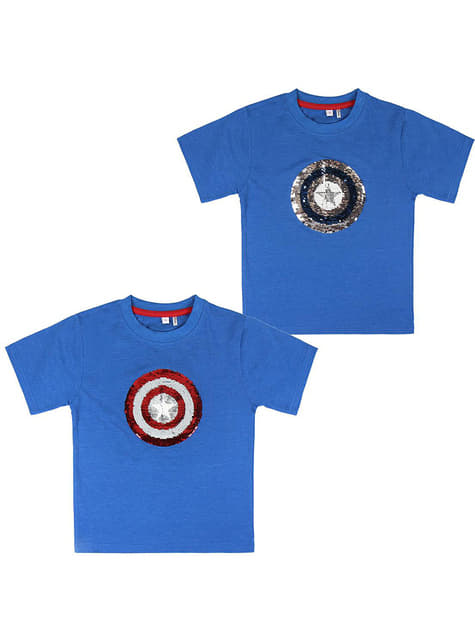 The Avengers T-Shirt with sequins for kids - Marvel