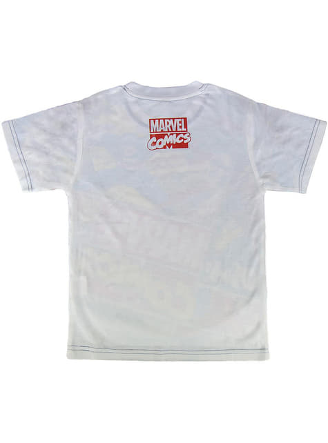 T-shirt Marvel comics infantil