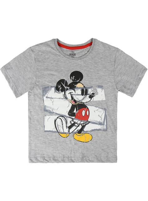 T-shirt de Mickey Mouse de manga curta infantil - Disney