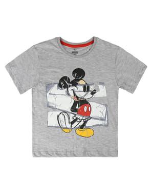 Mickey Mouse Çocuklar İçin Kısa Kollu Tişört - Disney