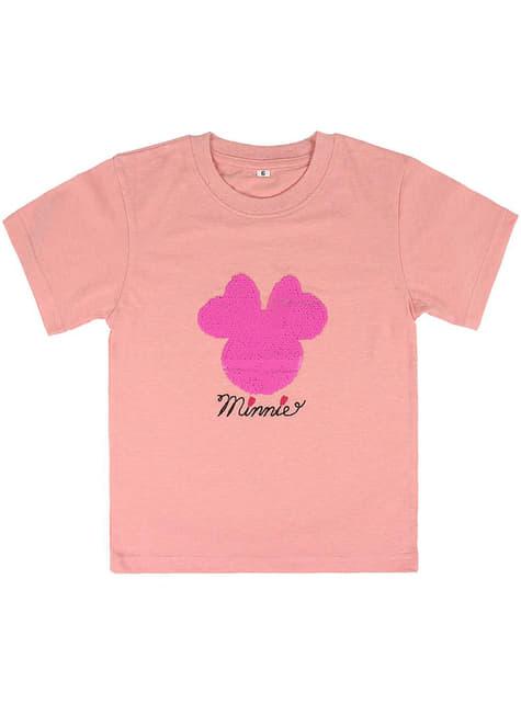 Camiseta de Minnie Mouse con lentejuelas para niña - Disney - niña
