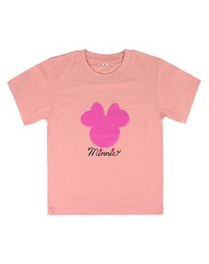Kaos Payet Minnie Mouse untuk Anak Perempuan - Disney