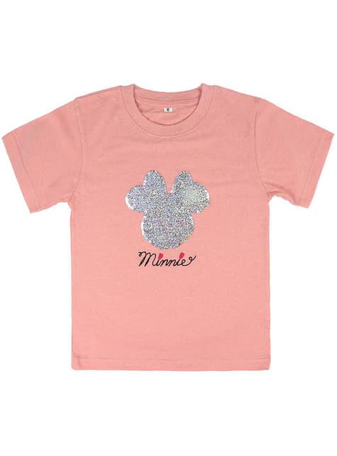 Camiseta de Minnie Mouse con lentejuelas para niña - Disney - original