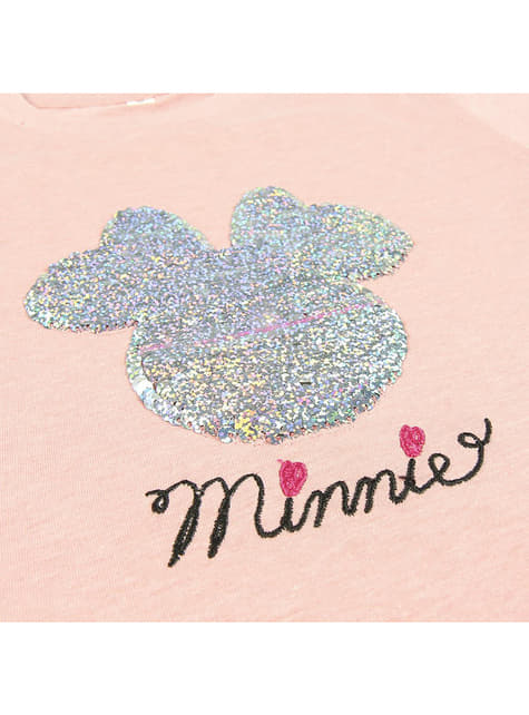 Minnie Mouse Sequin T-Shirt for Girls - Disney