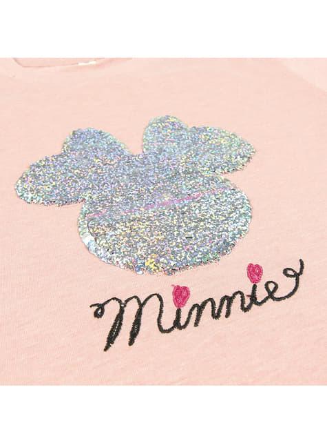 Минние Моусе Секуин Мајица за девојке - Диснеи