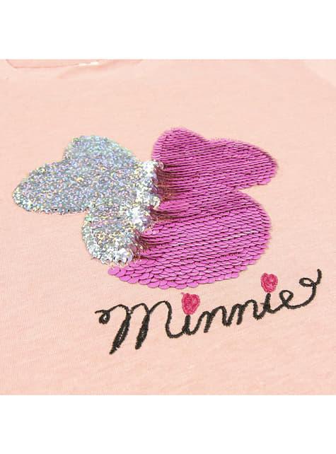 Camiseta de Minnie Mouse con lentejuelas para niña - Disney - para regalar en cualquier ocasión