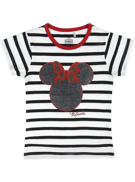 Minnie Mouse Striped T-Shirt for Girls - Disney