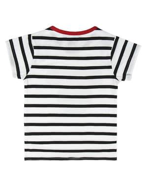 Minnie Mouse Stribet T-Shirt til Piger - Disney