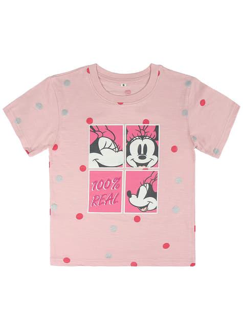 Camiseta de Minnie Mouse Faces para niña - Disney