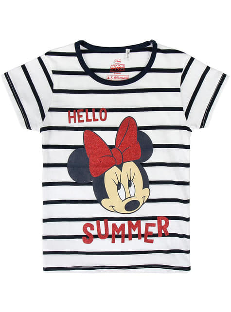 Minnie Mouse Hello Summer T-Shirt for Girls - Disney