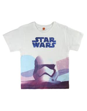 Stormtrooper T-Shirt for Kids in White - Star Wars