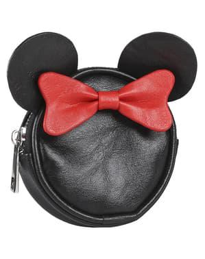 Monedero de Minnie Mouse con orejas y lazo para mujer - Disney