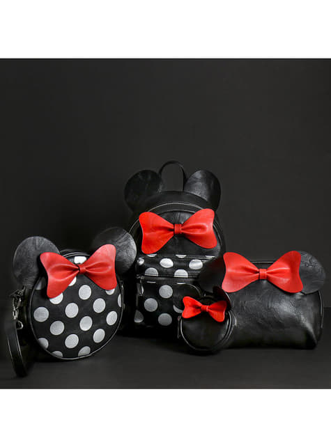 Porte-monnaie Minnie Mouse oreilles et nœud femme - Disney
