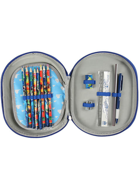 3D Buzz Lightyear pencil case for kids - Toy Story