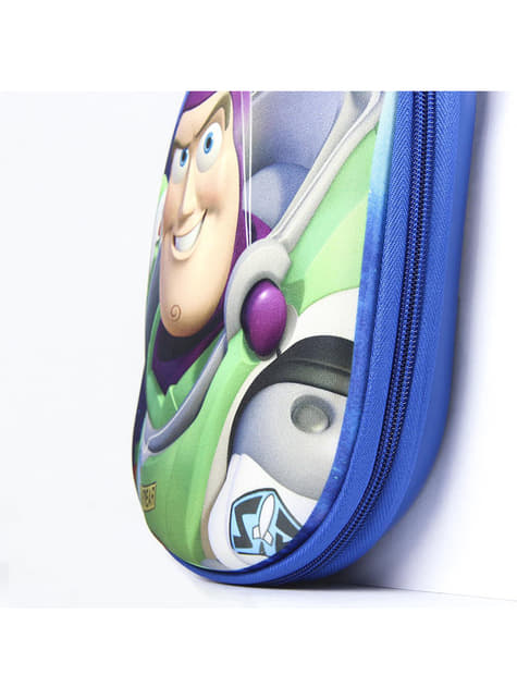 3D Buzz Lightyear penalhus til børn - Toy Story