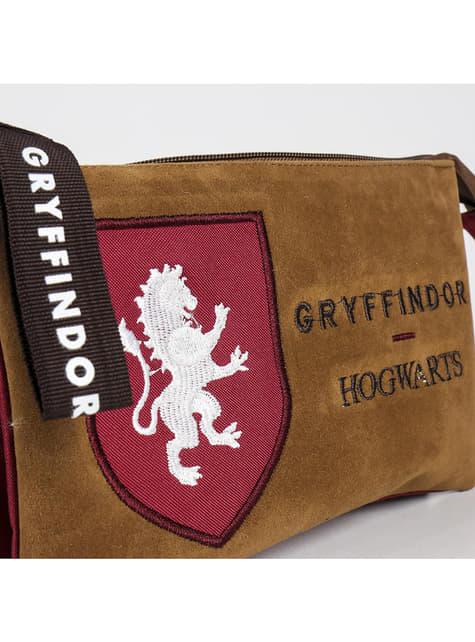 Estojo com dois fechos de correr de Gryffindor - Harry Potter