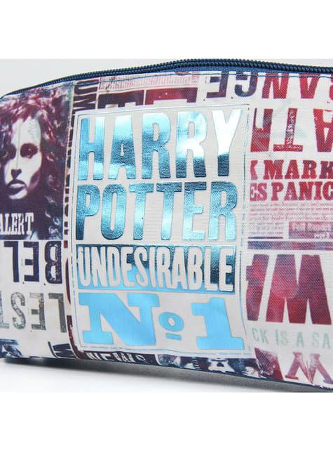 Astuccio di Harry Potter Undesirable nº1 con tre scompartimenti